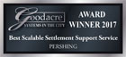 Best Scalable Settlement Support Service Award